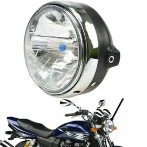 "8"" Motorcycle Headlight Amber Halogen Bulb Fit YAMAHA XJR400 XJR1200 XJR1300"