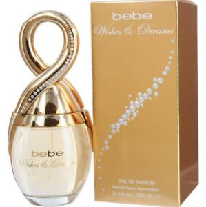 NEW BEBE Wishes & Dreams EUA DE PARFUM for Women 50ml 1.7 oz.