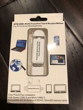 OTG/USB Multi-Function Card Reader/Writer for PCs Mobile Smartphone