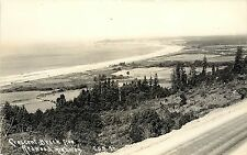 RPPC Postcard; Crescent Beach from Redwood Highway CA Patterson Del Norte County