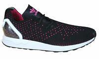 Adidas Originals ZX Flux Adv Asym Mens Trainers Lace Up Shoes Black S79063 B3D