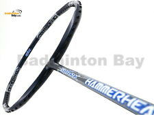 Abroz Shark Hammerhead Badminton Racket (6U) Free Stringing +String + PU Grip