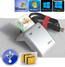 KOBIL KAAN USB CHIPKARTENLESER CHIPKARTENREADER HBCI FÜR WINDOWS XP SP3 7 8 10