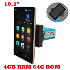 Android 9.0 HD 10.1in 1Din 4G RAM Car Stereo Radio GPS Wifi Mirror Link Player