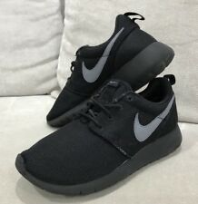 Nike Roshe One Black Rosherun Running Shoes Sneakers US 5.5Y Mens 7 US Womens
