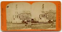 Soldier Monument & Opera House Detroit MI  Vintage Stereoview Photo by L. Black