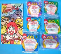 McDonald's My Little Pony Transformers Beast Wars Set of All 6 Happy Meal Toys