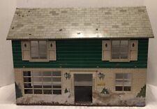 Marx Tin Metal Litho Colonial Dollhouse