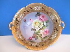 Noritake Stunning Hand Painted Porcelain Bowl, 1911-1925