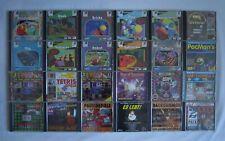 PC Spiele Sammlung - WIN 95 - Retro -  Pacman - Tetris - Quak - Solitaire - Flip