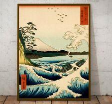 Vintage Japanese Art Poster Print, Ukiyo E Woodblock print reproduction