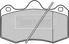 Borg & Beck Bremsklötze Set für Scheibenbremsen Beläge BBP2259 - Original -