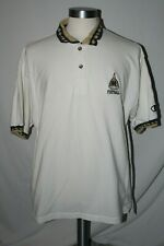 Champion Notre Dame Fighting Irish Golf Polo White Shirt XL