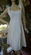 VERONIKA MAINE BY CUE DRESS WITH COTTON LINING, STYLISH AND ELEGANT, SIZE 14