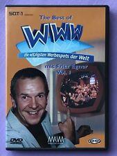 """DVD """"The Best Of WWW - Die witzigsten Werbespots der Welt"""" (vol.) 1 Fritz Egner"""