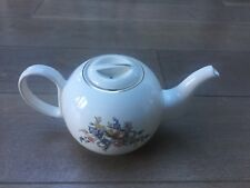 Mariage Freres tea pot en porcelaine vintage floral -- RARE! SADLER made in England