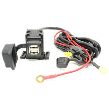 12V-24V Wasserdicht Dual-USB Hafen Motorrad Steckdose Ladegerät für Handy Auto