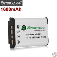 NEW 1600mAh NP-BX1 Battery for Sony Cyber-shot DSC-WX300 DSC-WX350 FDR-X1000V