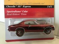 Hot Wheels 2011 RLC Rewards CHEVELLE SS EXPRESS Car Real Riders Chevy Chevrolet