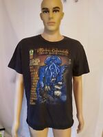Pirates Of The Caribbean Dead Mans Chest Davy Jones Comic Tee Shirt Disney Large
