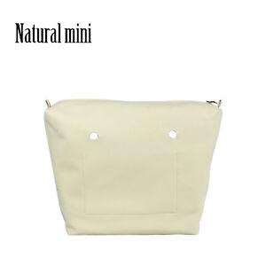 Nubuck Waterproof Inner Lining Zipper Pocket for Obag Lining Insert for O BAG