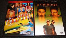 WILD THINGS: FOURSOME & WILD THINGS-2 movies-ASHLEY P ANGEL, MATT DILLON,K BACON