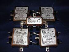 Corom (4) 5VK1 F7139 5A,120/250 VAC, 50-60HZ & (1) 2VB1 EMI Filter Lot of 5