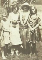 West Virginia Mother Daughters Sisters Family Appalachia 1915 Antique Photo