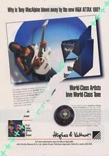 Tony MacAlpine UK 'Guitarist' Trade Press advert