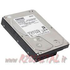 HARD DISK DT01ACA200 TOSHIBA 2000 Gb 3,5 POLLICI SATA 2TB 2 TERA INTERNO PC HD