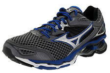 Mizuno Wave Creation 18 Men's Size 9 Medium Width Running Shoes Steel/Blue