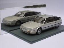 Neo scale models 1/43 Citroen CX GTi Turbo2 argent, silver grey, silber,
