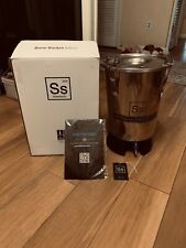 Ss Brewtech Home Brewing Mini Brew Bucket Fermenter; Stainless Steel (3.5 Gal...