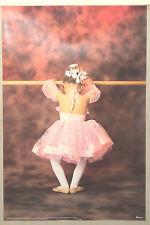 (PRL) 1988 LITTLE BALLERINA DANCER VINTAGE AFFICHE POSTER ART PRINT COLLECTION