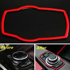 Car Interior Multimedia Buttons Frame Cover Trim For BMW Series F30 320 X5 X6