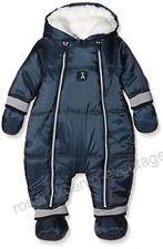 Absorba Boutique Gr. 74 80 Baby Overall Anzug Einteiler Schneeanzug Blau A6516