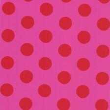 Kids Wallpaper Die Maus dots pink red 05213-20 (2,49£/1qm)