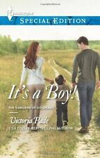 It's a Boy! (Read excerpt here!) by Victoria Pade -Home and Family Harlequin