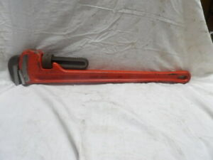 "Ridgid 24"" Heavy Duty Pipe Wrench USA"