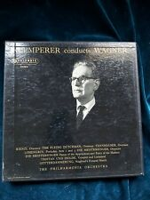 Klemperer Conducts Wagner TPO COLUMBIA SAX 2347/8 B/S ED1 2LP box NM