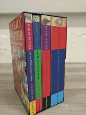 The Harry Potter Boxed Set of First 4 Books 1 - 4 JK Rowling