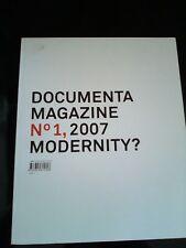 Buch Documenta Magazine No 1, 2007 Modernity? ISBN 978-3-8228-1532-8