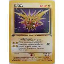 Pokemon Zapdos 30/62 (1.Edition 1999 Fossil) Englisch Mint
