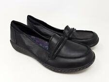 New! Women's Skechers 49330 Relaxed Fit: Washington- Olympia Slip-On Blk G24