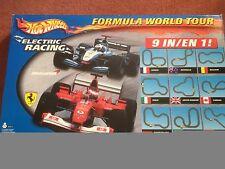 Hot wheels Formula World Tour Ferrari McLaren Slot Car Racing Used