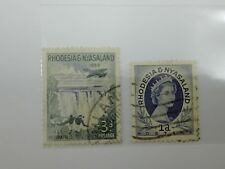 (RB 119) 1954-55 Rhodesia & Nyasaland Stamps - Used