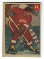 1954-55 Parkhurst NHL Hockey Johnny Wilson Detroit Red Wings Card #44