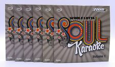 More details for zoom karaoke cd+g - ultimate whole lotta soul & motown collection - 6 cd+g discs