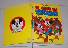IL CLUB DI TOPOLINO Walt Disney Mondadori Libri Tv Prima edizione 1980 cartonato