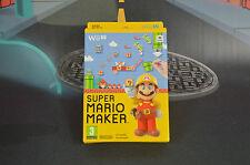 SUPER MARIO MAKER NUEVO NEW WIIU WII U ENVÍO 24/48H COMBINED SHIPPING